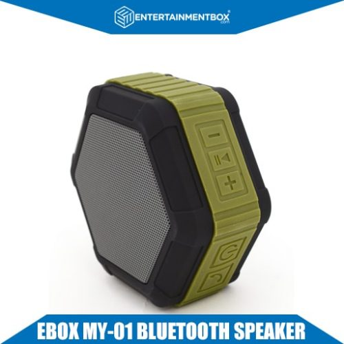 EBox My-01 Bluetooth speaker front display