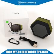 EBox My-01 Bluetooth speaker whats in the box