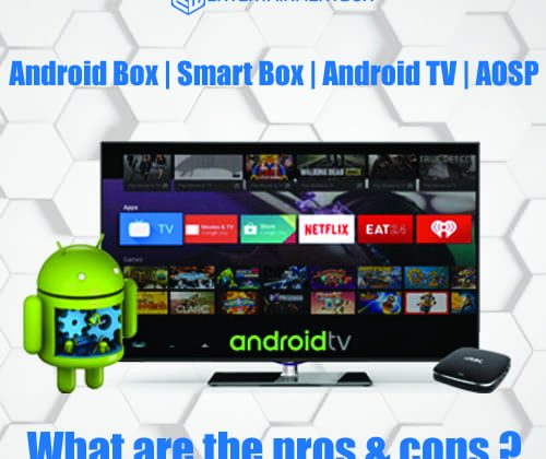 Android Box, Smart Box, AOSP