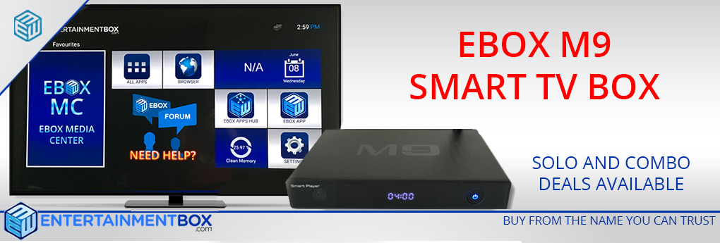 EBOX® M9 SMART KODI TV BOX ANDROID BOX