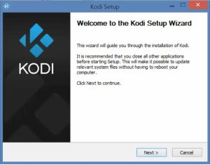 Install Kodi onto Windows PC Windows Device