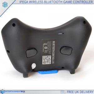 back of the EBox ipega gamepad