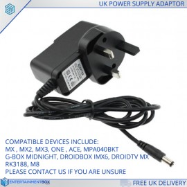 SHOP UK POWER SUPPLY GBOX M8 ETC 1
