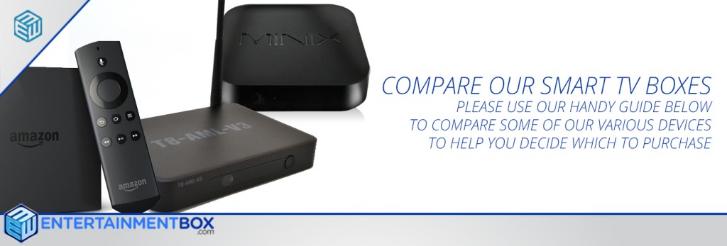 Compare Smart TV boxes