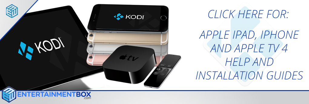 Install Kodi onto your iPhone iPad ipod