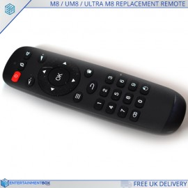 M8 REPLACEMENT REMOTE