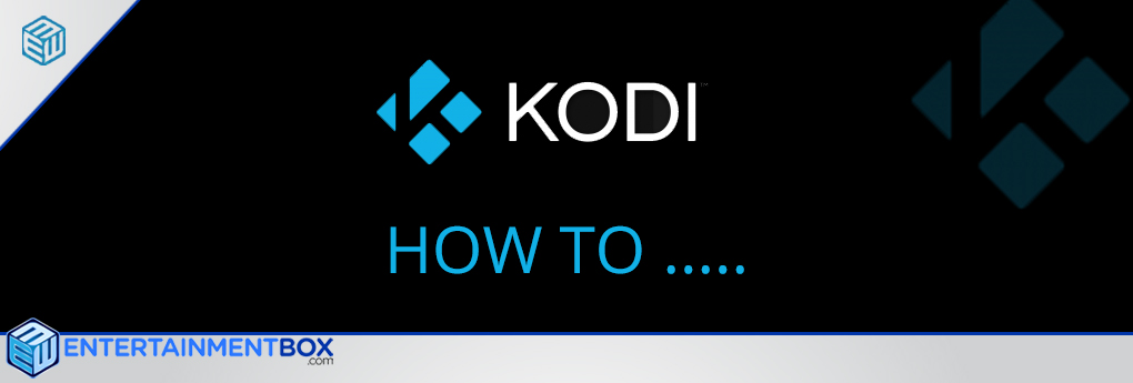 Guide Video Settings Kodi