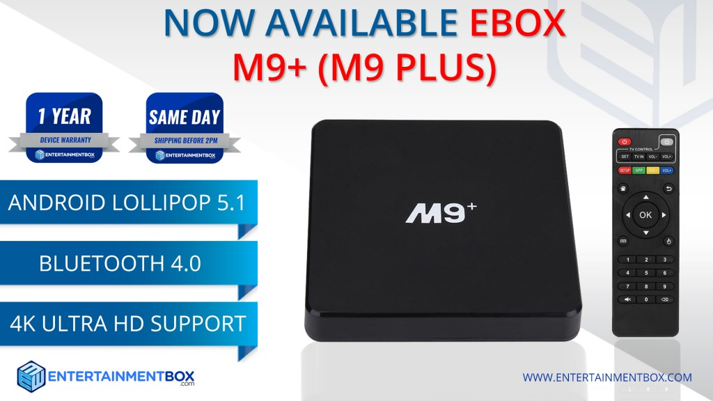 EBox M9 Plus Smart TV Box