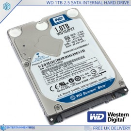 Western Digital 1Tb Internal Sata Hard Drive