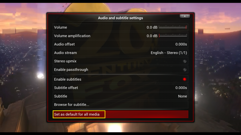 EBox Adjust Lip Sync issue on Kodi help guide