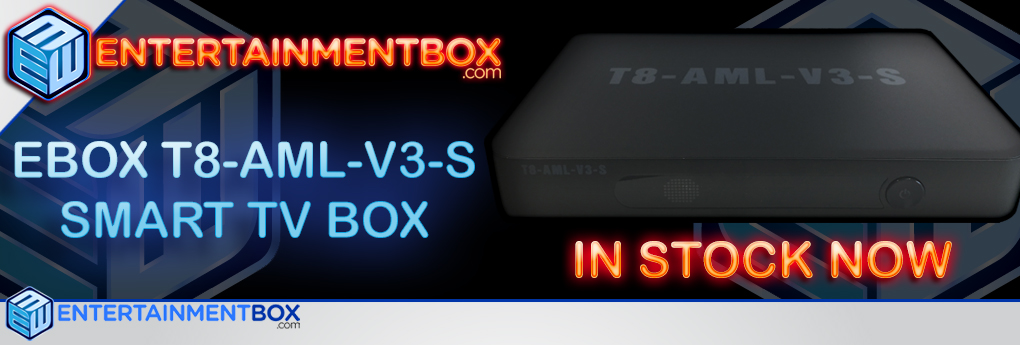 T8 TV BOX T8 AML V3 S KODI BEST KODI