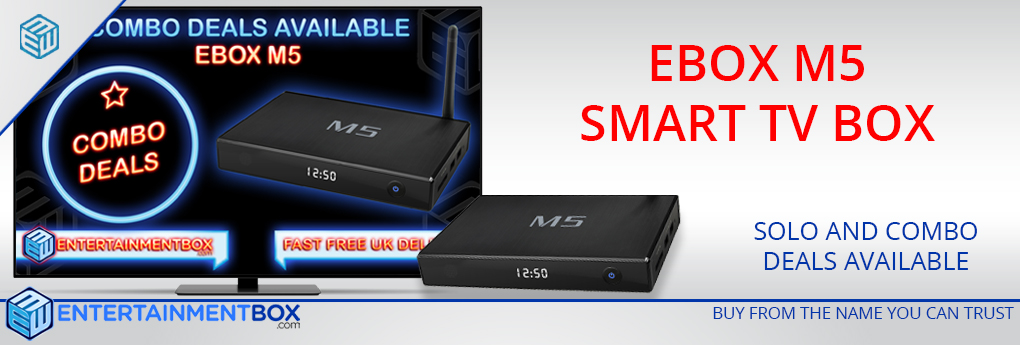 EBox M5 Smart Kodi TV Box EBox M5-S805 Android