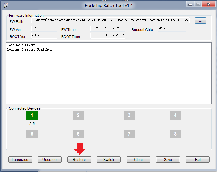 rk2928 usb driver download