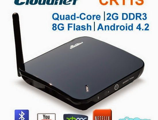 Cloudnetgo CR11S TV Box Android Jelly Bean 4.2.2 custom Firmware Download