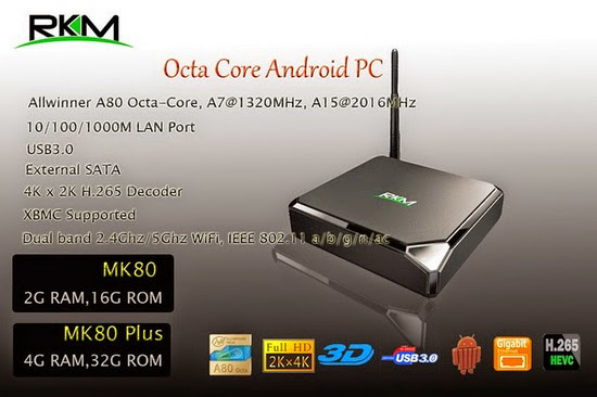 Rikomagic MK80 TV Box Android KitKat 4.4.2 custom firmware Download