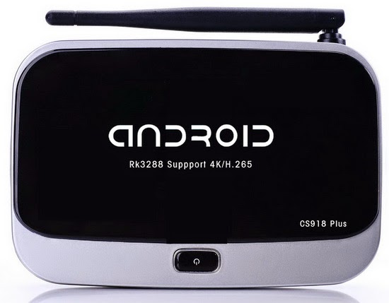 CS918 Plus TV Box Android KitKat 4.4.2 custom firmware Download