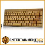 Bamboo Handcrafted Wireless Keyboard