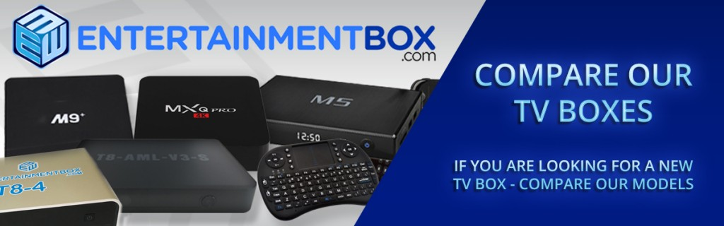COMPARE ANDROID SMART TV BOXES AND ACCESSORIES UK