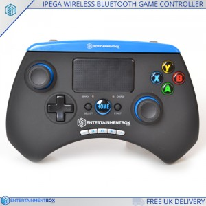 Front of the ebox ipega gamepad