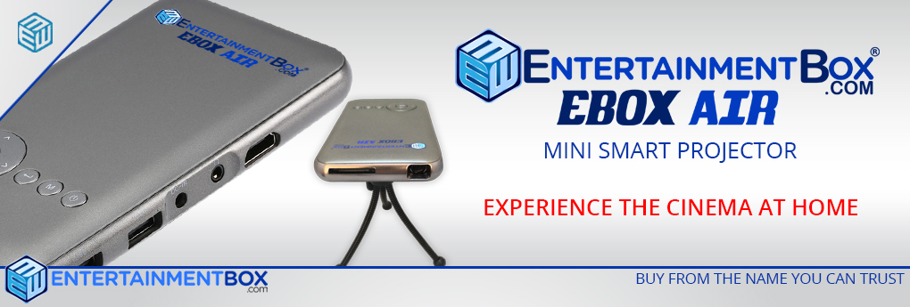 EBOX AIR MINI SMART PROJECTOR CINEMA EXPERIENCE