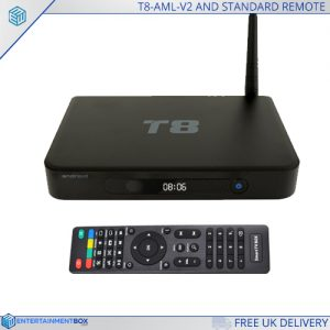 ODI TV BOX AND STANDARD REMOTE