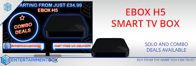 EBox H5 Quad-Core Smart TV Box