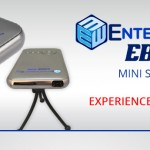 Mini projector based on android 4.4 by Entertainment Box