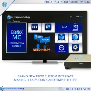 Droid TV box T8 4 Menu