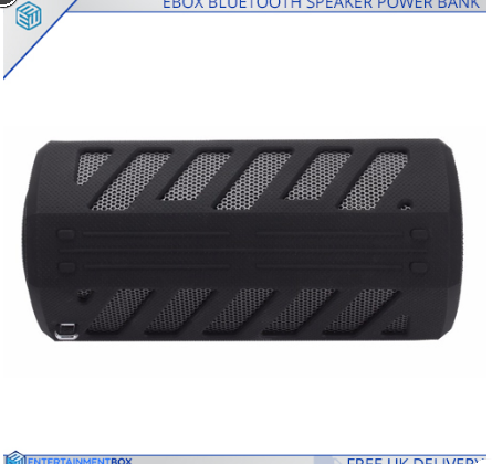Ebox Bluetooth Speaker Powerbank