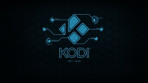 Kodi 16 splash image.