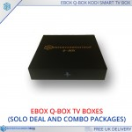 Ebox Q Box Ultra Compact Smart Kodi TV Box OTA