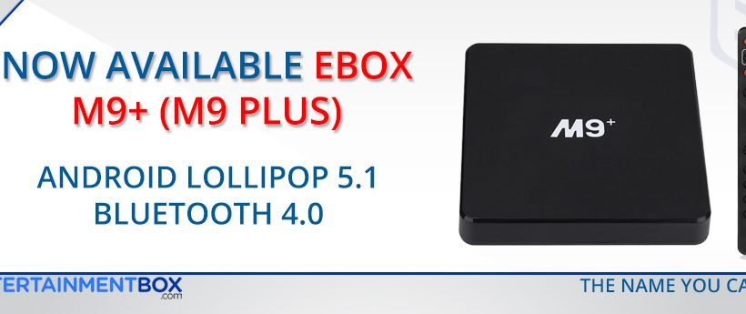 Ebox M9 Plus 4K UHD Amlogic