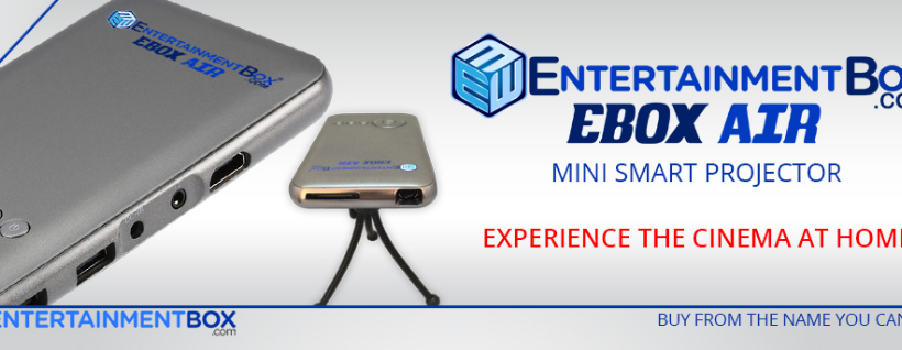 Ebox Air Smart Mini Projector