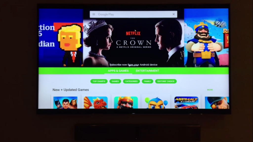Create a Goggle Play Account for your Smart TV box