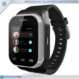 KenXinDa W1 Bluetooth Watch Phone, Dual SIM, Camera, Slideout Keyboard