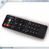 Remote Control EBox Q7 RK318 Replacement Remote