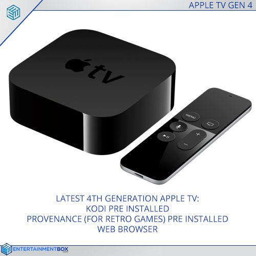 Apple TV 4 Kodi pre-installed £189.99