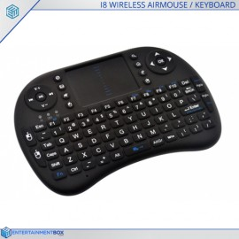 i8 Portable Air Mouse + Touchpad Wireless Keyboard