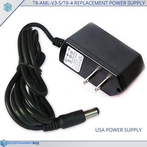 Replacement USA Power Supply Adaptor T8 AML V3 S T8 4 Plug