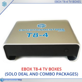 T8-4 Stream TV box