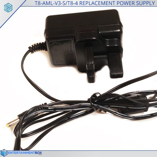 Replacement UK Power Supply Adaptor T8 AML V3 S T8 4 Plug