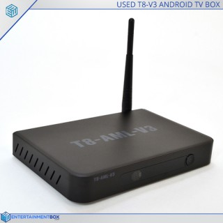 Reconditioned T8-AML-V3 Amlogic S812 Quad Core Android powered TV Box