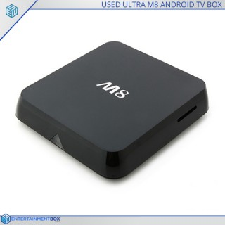Reconditioned M8 Amlogic S802 Quad Core Android Powered TV Box