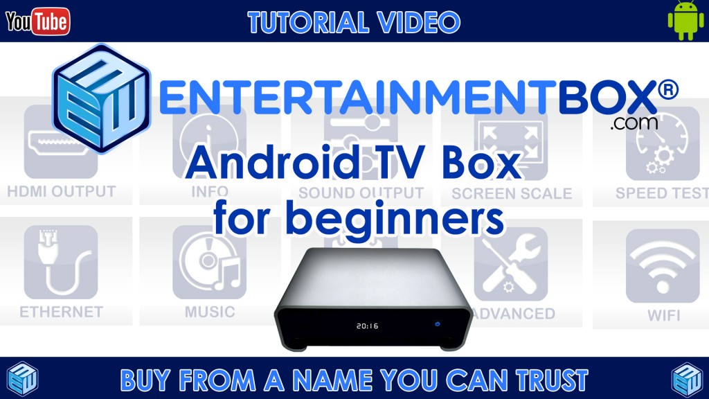 Setup guide Android, TV Box And Kodi TV box for beginners