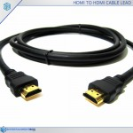 HDMI to HDMI cable lead 1m