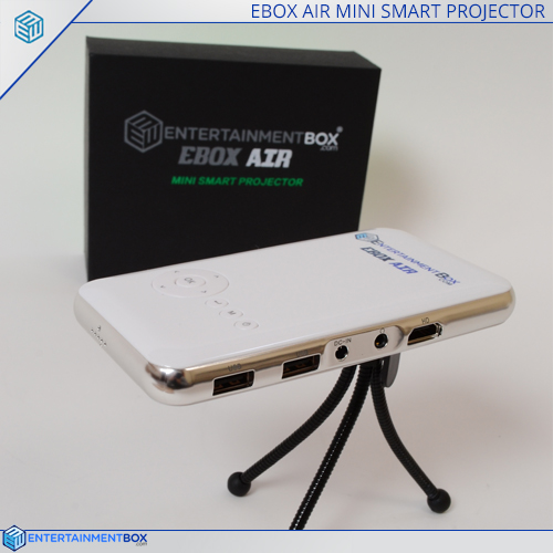 Ebox air side view on stand