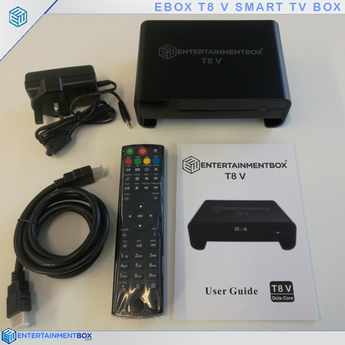 t8 v with hdmi remote t8v user guide power-plug and box