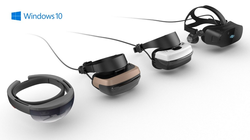 VR Headsets from Microsoft, Acer, Asus, Dell, HP, and Lenovo.