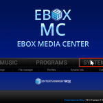 fix Kodi has stopped responding EBMC / Android 6 EBOX Guide