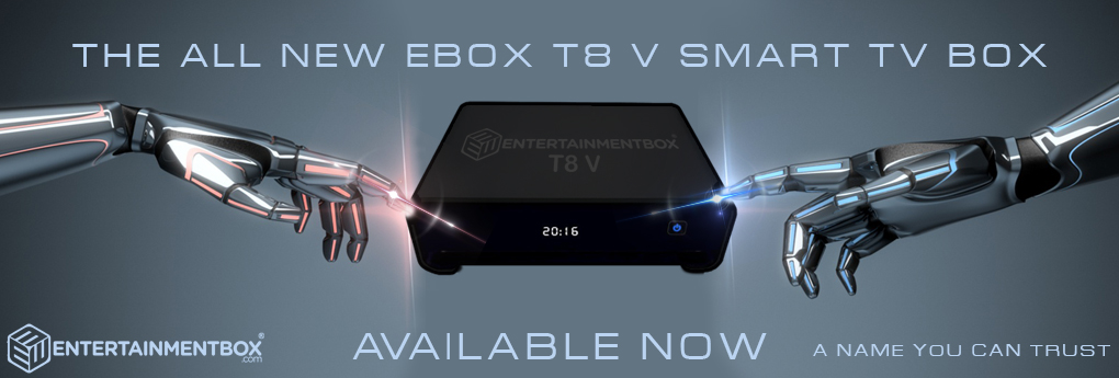 T8 V TV box new